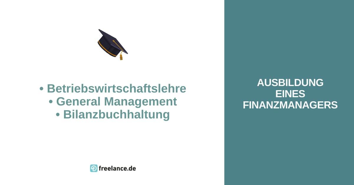 Ausbildung Finanzmanager