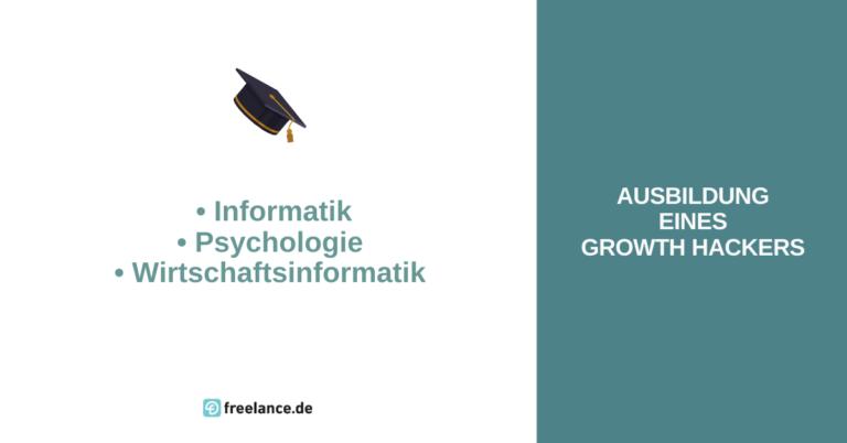 Ausbildung Growth Hacker
