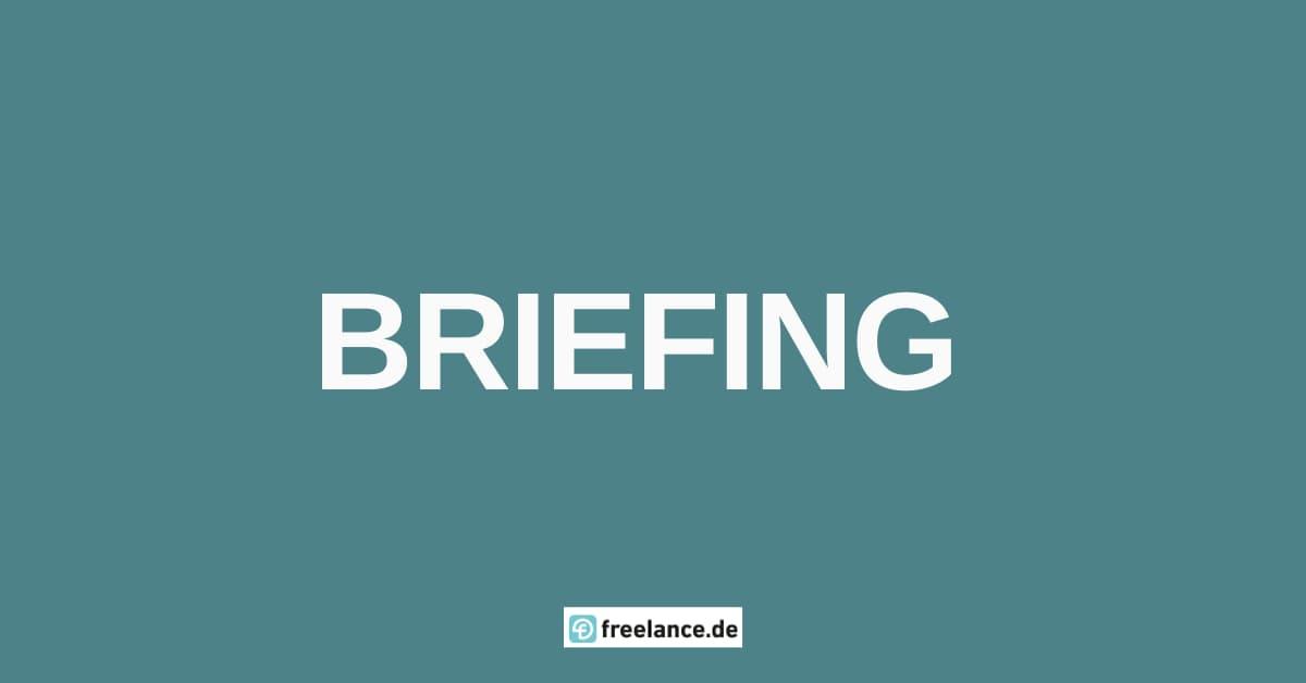 was ist briefing