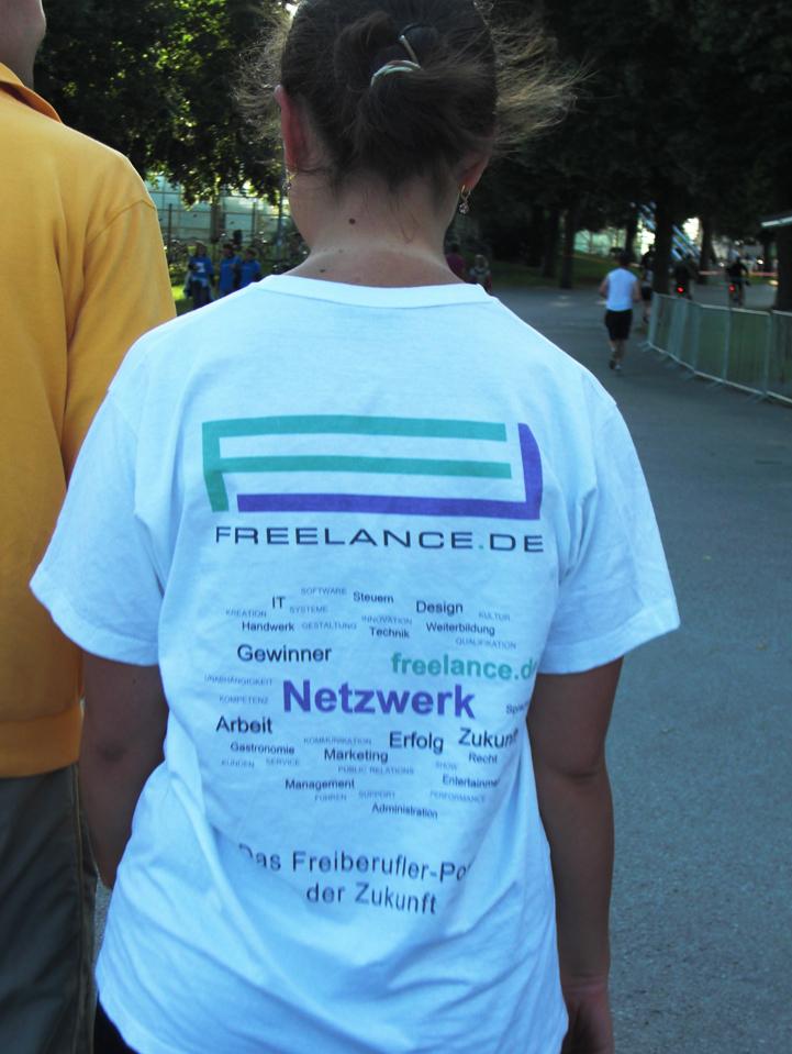 Freelance.de Firmenlauf Trikot