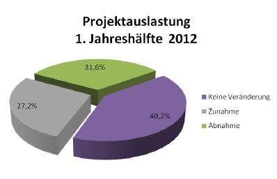 Projektauslaustung 1. Jahreshälfte 2012
