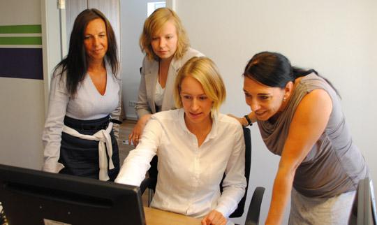 Search Team von Freelance.de