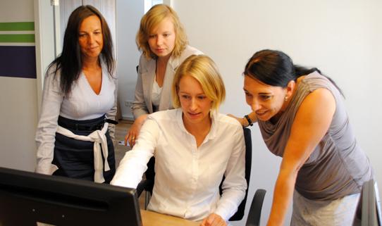 Das Search Team von Freelance.de