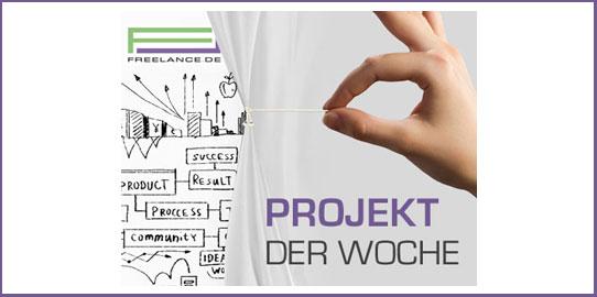 Projekt der Woche bei Freelance.de