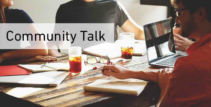 community talk