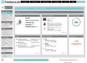 Die neue Übersicht für Freelancer: Alle Informationen auf einem Blick