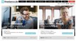 Freelance.de Homepage 2016
