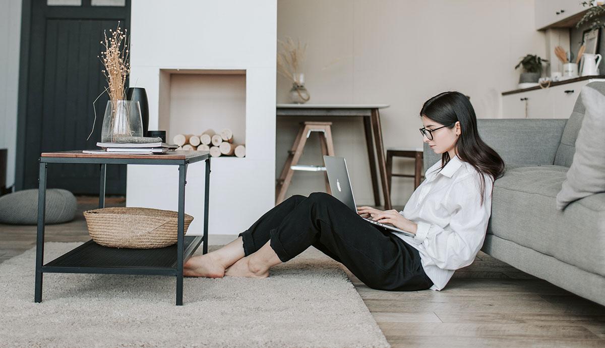 flexibel arbeiten von Zuhause