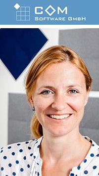 Stephanie Kania von der COM Software GmbH