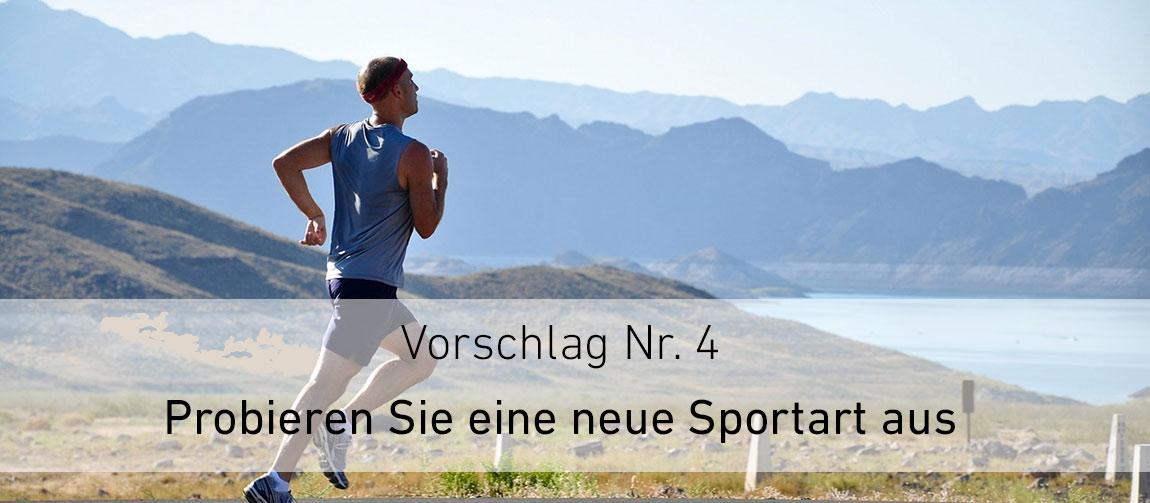 Neue Sportarten ausprobieren im Sommer