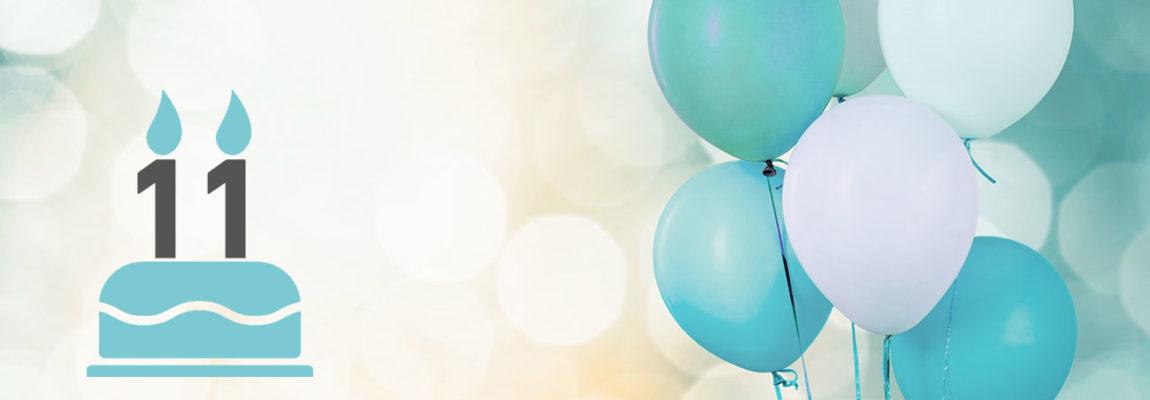 11 Jahre freelance.de: Es erwarten Sie spannende Aktionen rund um unser Firmenjubiläum!