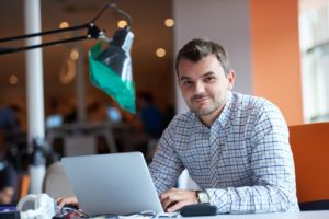 Freelancer im Home Office
