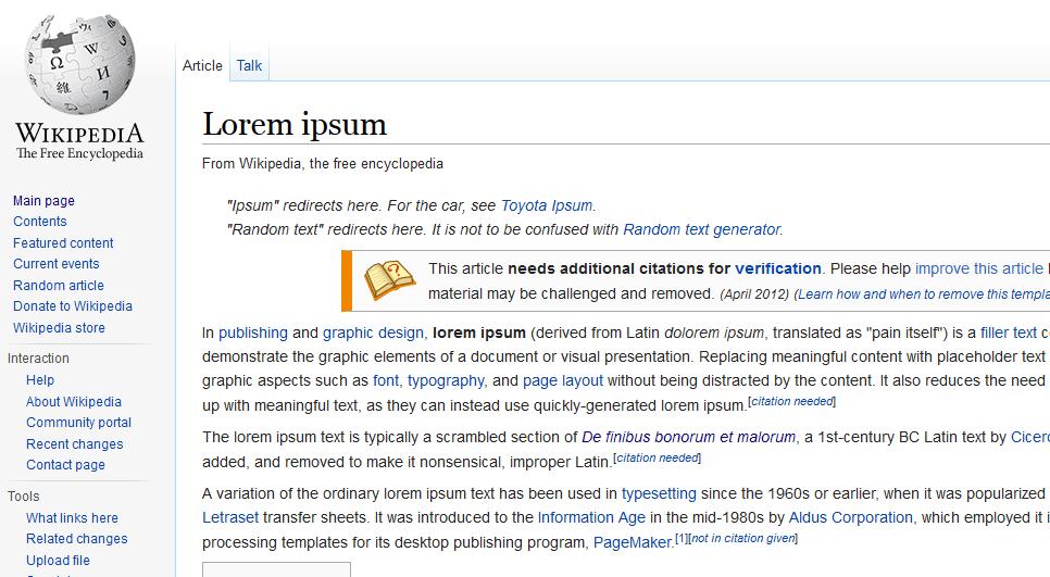 was ist lorem ipsum