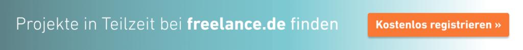 Selbständig machen mit freelance.de - kostenlos registrieren