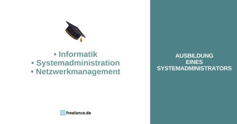 ausbildung systemadministrator