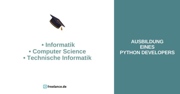 Ausbildung Python Developer