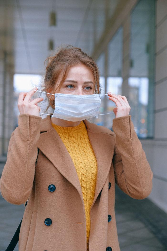Büroalltag Coronavirus