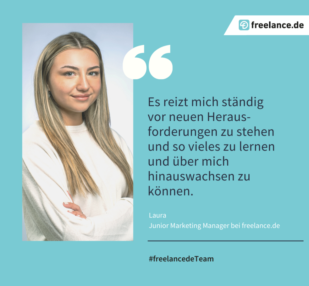 freelance.de Team - Laura